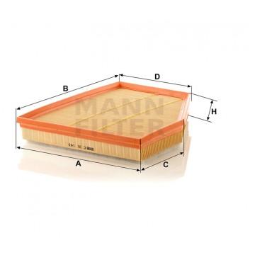 Oro filtras MANN-FILTER C 31 143 | MOVIDA.LT