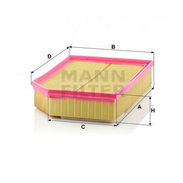 Oro filtras MANN-FILTER C 33 194 | MOVIDA.LT