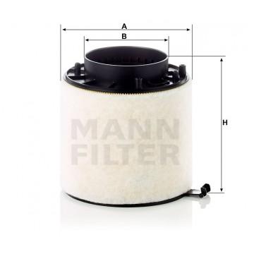 Oro filtras MANN-FILTER C 16 114/1 x   MOVIDA.LT