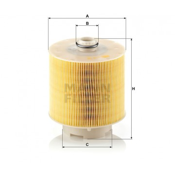 Oro filtras MANN-FILTER C 17 137 x | MOVIDA.LT