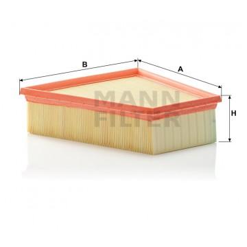 Oro filtras MANN-FILTER C 2295/3   MOVIDA.LT