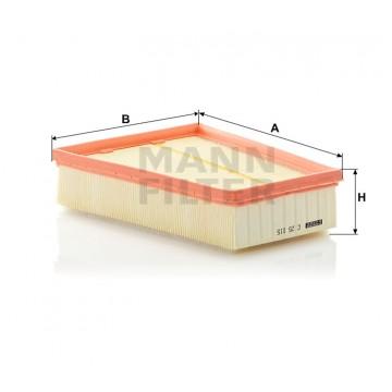 Oro filtras MANN-FILTER C 25 115 | MOVIDA.LT