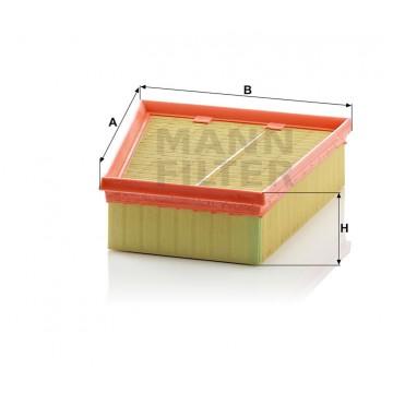 Oro filtras MANN-FILTER C 2512 | MOVIDA.LT