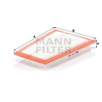 Oro filtras MANN-FILTER C 27 006 | MOVIDA.LT
