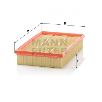 Oro filtras MANN-FILTER C 28 110 | MOVIDA.LT
