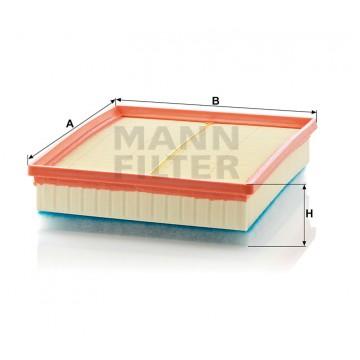 Oro filtras MANN-FILTER C 29 168 | MOVIDA.LT