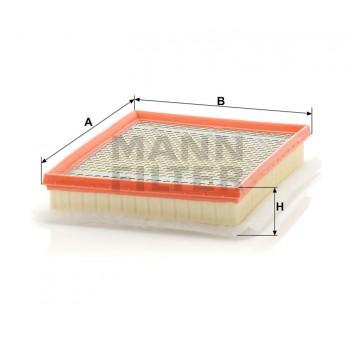 Oro filtras MANN-FILTER C 30 138   MOVIDA.LT
