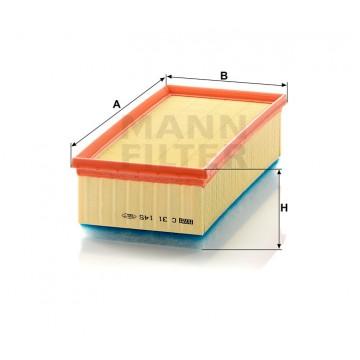 Oro filtras MANN-FILTER C 31 145 | MOVIDA.LT