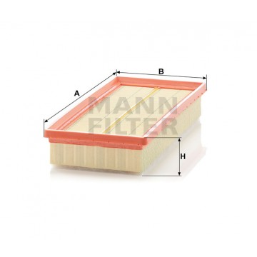 Oro filtras MANN-FILTER C 32 108 | MOVIDA.LT