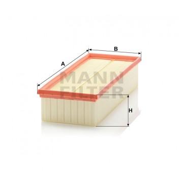 Oro filtras MANN-FILTER C 35 154/1 | MOVIDA.LT