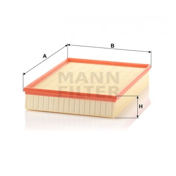 Oro filtras MANN-FILTER C 4312/1 | MOVIDA.LT