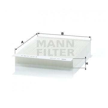 Salono filtras MANN-FILTER CU 2143 | MOVIDA.LT