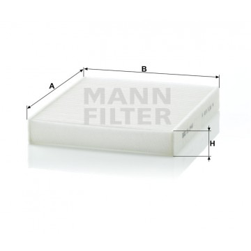 Salono filtras MANN-FILTER CU 2440 | MOVIDA.LT