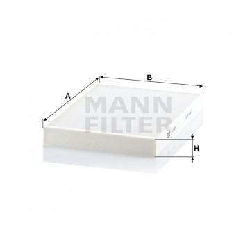 Salono filtras MANN-FILTER CU 3037 | MOVIDA.LT