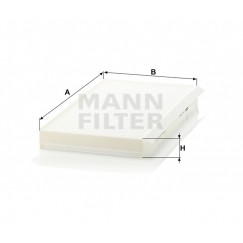 Salono filtras MANN-FILTER CU 3139