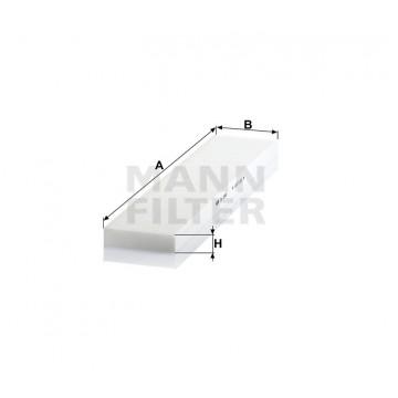 Salono filtras MANN-FILTER CU 5480 | MOVIDA.LT