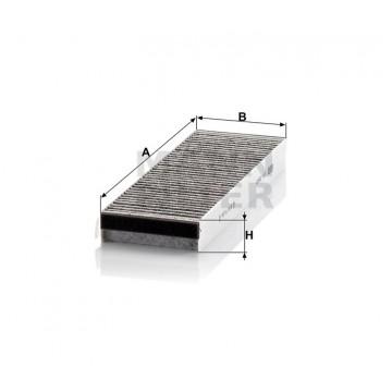 Salono filtras MANN-FILTER CUK 3023-2 | MOVIDA.LT