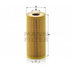 Alyvos | Tepalo filtras MANN-FILTER HU 615/3 x