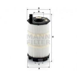 Alyvos | Tepalo filtras MANN-FILTER HU 7005 x