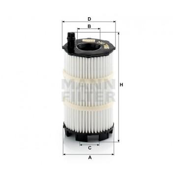 Alyvos | Tepalo filtras MANN-FILTER HU 7005 x | MOVIDA.LT