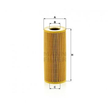 Alyvos | Tepalo filtras MANN-FILTER HU 7029 z | MOVIDA.LT