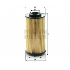 Alyvos | Tepalo filtras MANN-FILTER HU 712/10 x