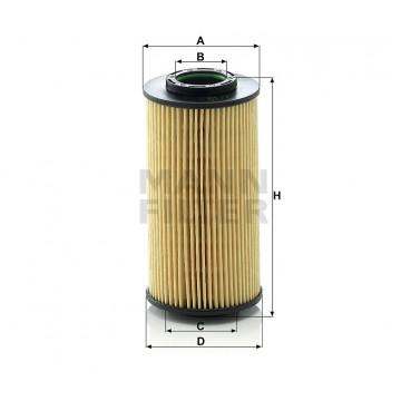 Alyvos | Tepalo filtras MANN-FILTER HU 712/10 x | MOVIDA.LT