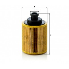Alyvos | Tepalo filtras MANN-FILTER HU 712/7 x