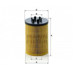 Alyvos | Tepalo filtras MANN-FILTER HU 715/5 x