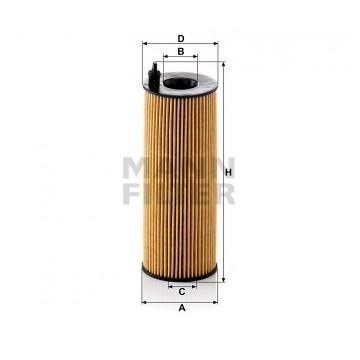 Alyvos | Tepalo filtras MANN-FILTER HU 721/5 x | MOVIDA.LT