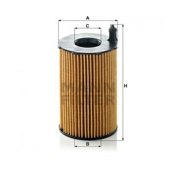 Alyvos | Tepalo filtras MANN-FILTER HU 8005 z | MOVIDA.LT