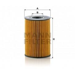 Alyvos | Tepalo filtras MANN-FILTER HU 8007 z