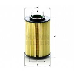 Alyvos | Tepalo filtras MANN-FILTER HU 822/5 x