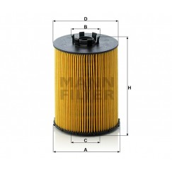 Alyvos   Tepalo filtras MANN-FILTER HU 823 x