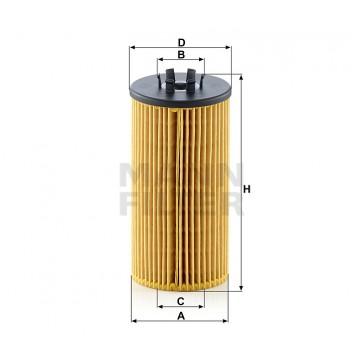 Alyvos | Tepalo filtras MANN-FILTER HU 835/1 z | MOVIDA.LT