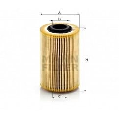 Alyvos | Tepalo filtras MANN-FILTER HU 924/2 x