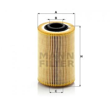 Alyvos | Tepalo filtras MANN-FILTER HU 924/2 x | MOVIDA.LT