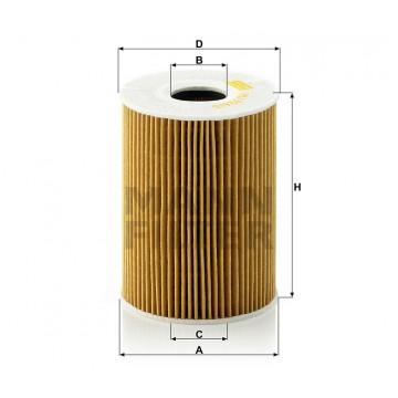 Alyvos | Tepalo filtras MANN-FILTER HU 926/5 y | MOVIDA.LT