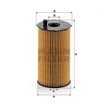 Alyvos | Tepalo filtras MANN-FILTER HU 934/1 x | MOVIDA.LT