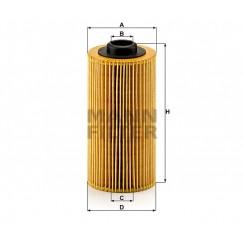 Alyvos | Tepalo filtras MANN-FILTER HU 938/4 x
