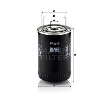 Alyvos | Tepalo filtras MANN-FILTER W 9009 | MOVIDA.LT