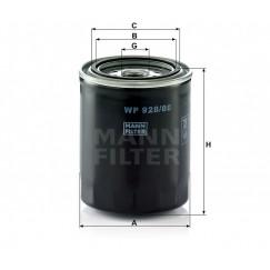 Alyvos | Tepalo filtras MANN-FILTER WP 928/80