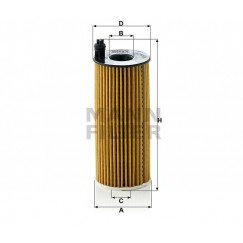 Alyvos | Tepalo filtras MANN-FILTER HU 6004 x