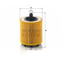 Alyvos | Tepalo filtras MANN-FILTER HU 6007 x