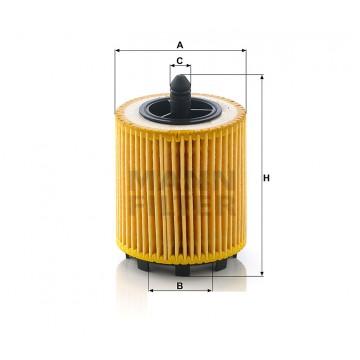 Alyvos | Tepalo filtras MANN-FILTER HU 6007 x | MOVIDA.LT