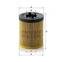 Alyvos | Tepalo filtras MANN-FILTER HU 611/1 x