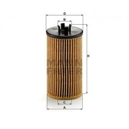 Alyvos | Tepalo filtras MANN-FILTER HU 612/2 x