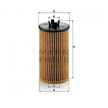 Alyvos | Tepalo filtras MANN-FILTER HU 612/2 x | MOVIDA.LT
