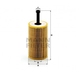 Alyvos | Tepalo filtras MANN-FILTER HU 612 x