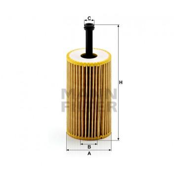 Alyvos | Tepalo filtras MANN-FILTER HU 612 x | MOVIDA.LT